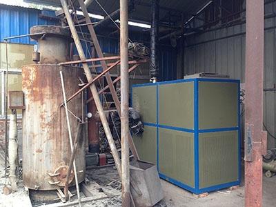 电加热导热油炉-煤改电用户现场