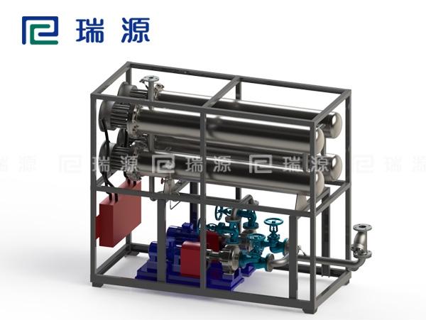 江苏450KW电加热导热油炉