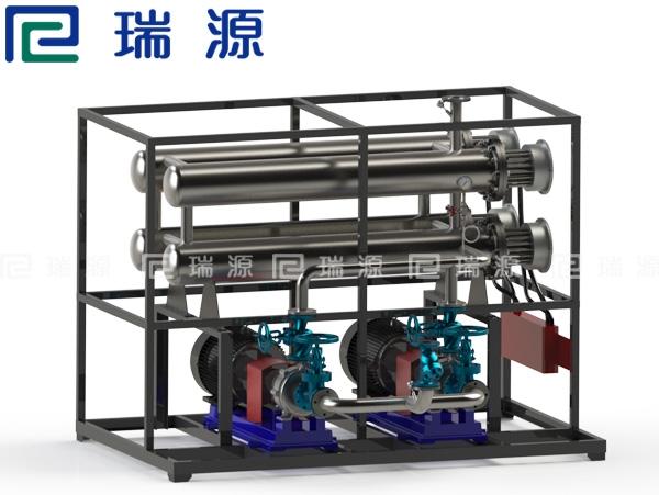 常熟600KW电加热导热油炉